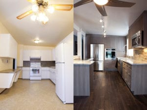 successful kitchen renovation