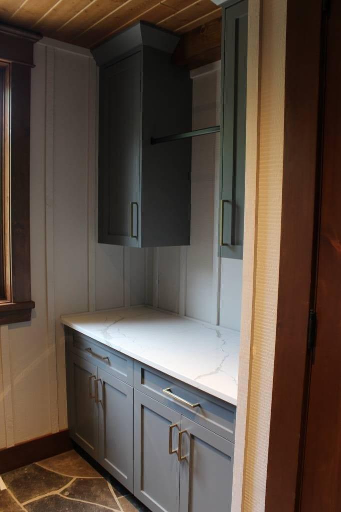 vintage themed cabinet design