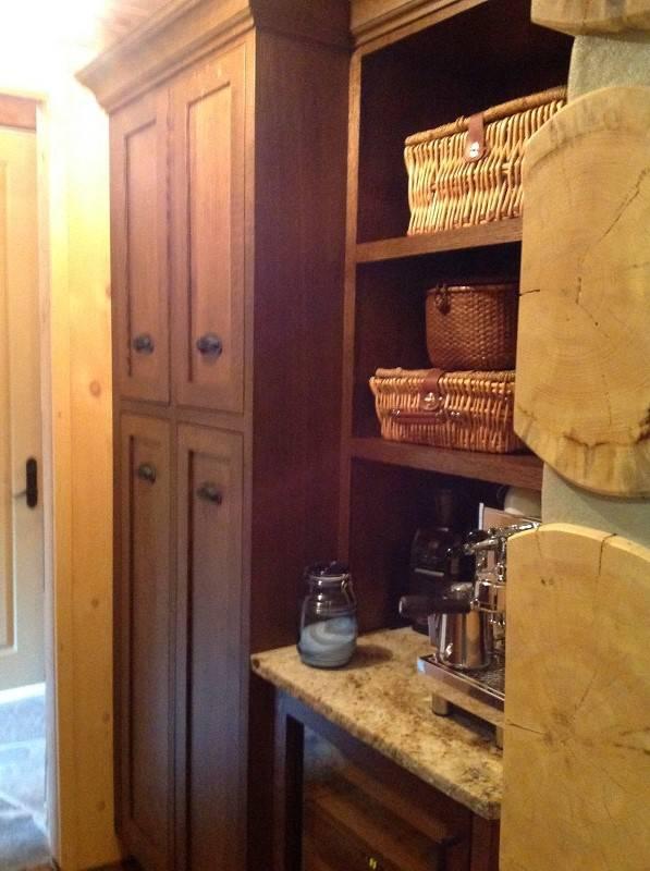 organizer wooden cabinet