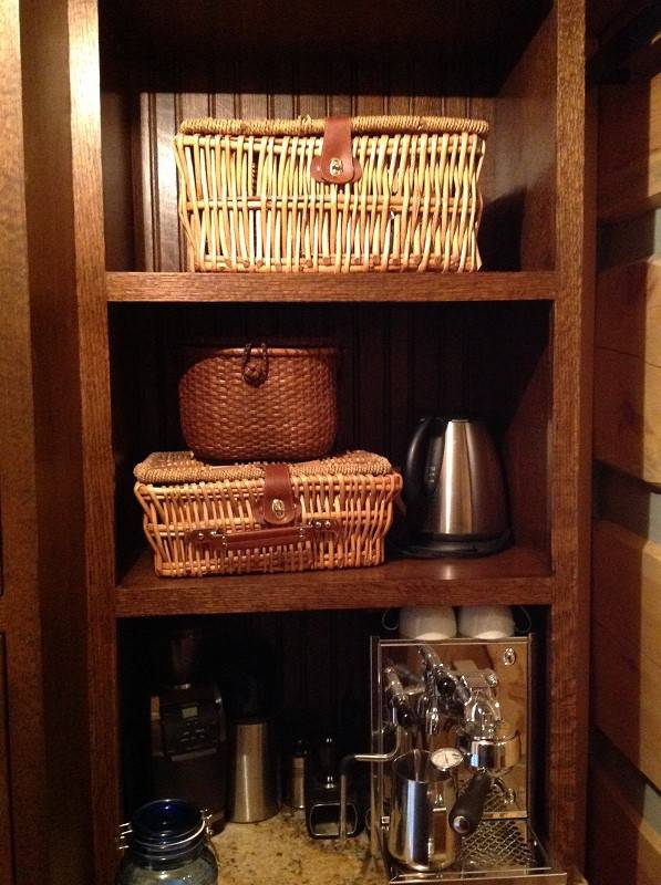 kitchen wooden rack