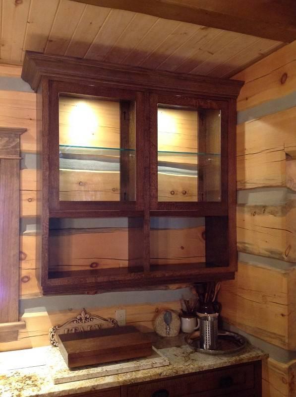 wooden closet organizer