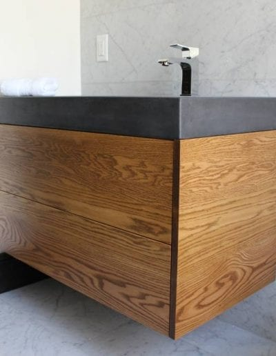 wooden sink design