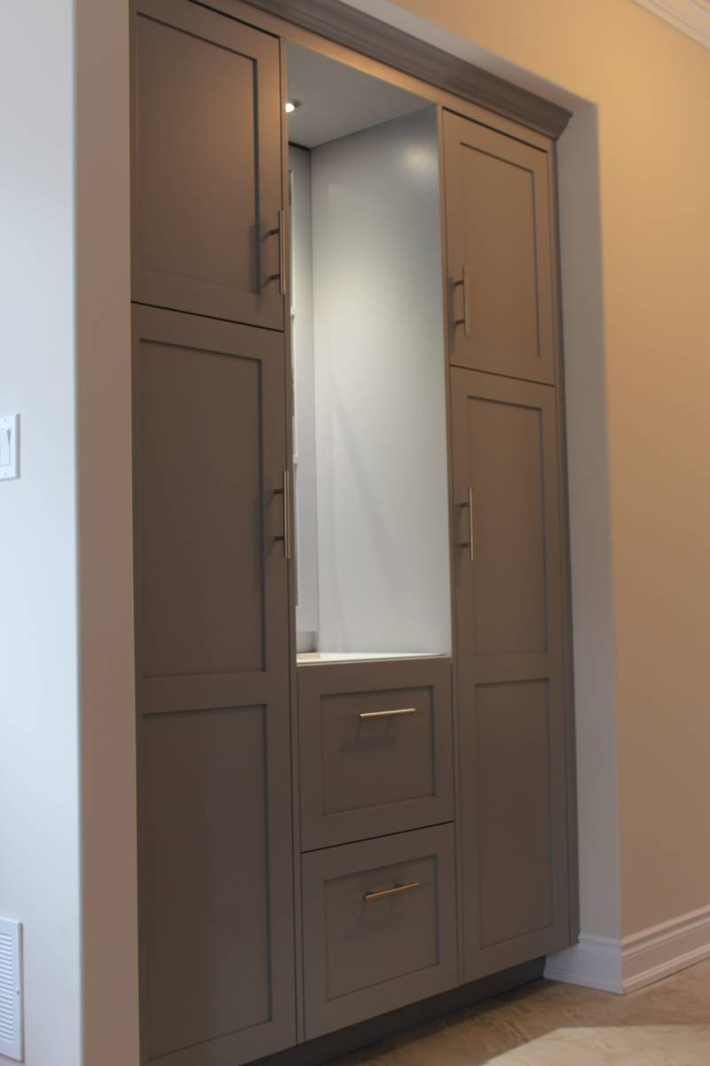closet cabinet set