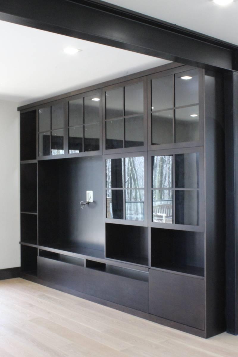 dark them cabinet design