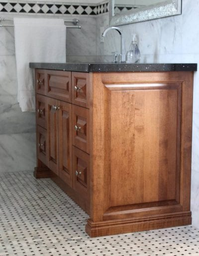 custom wooden cabinetry