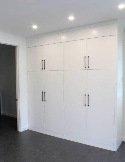 plain white cabinet